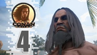 Shaleback King! - EP04 - CONAN EXILES (Removing The Bracelet)