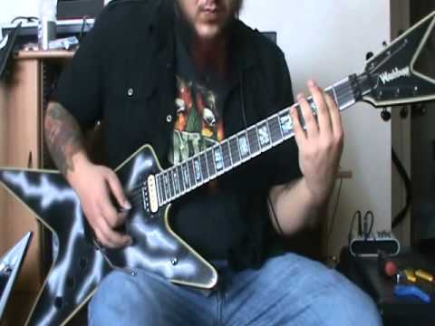 Pantera - Cemetery Gates Guitar Cover - By Kenny Giron (kG) #panteracoversfromhell