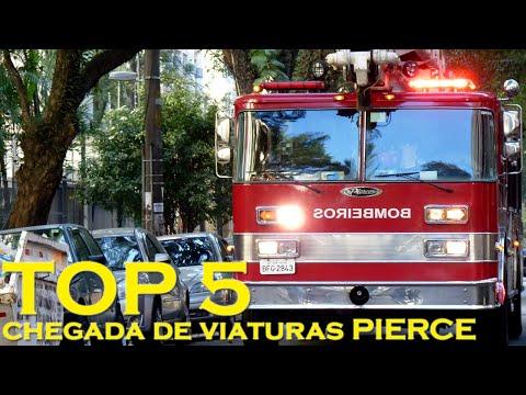Brasil TOP 5 Emergência – Chegada de Viaturas Pierce