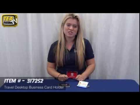 Promotional Travel Desktop Business Card Holder Demo #317252