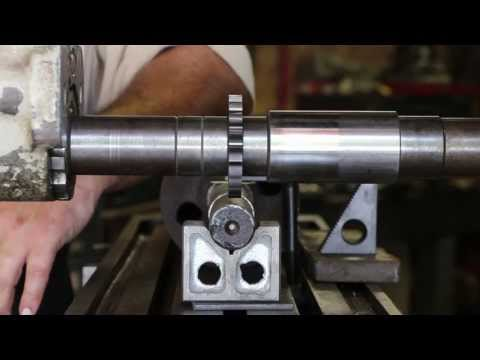 machine - This is a video that shows how I set up my Kearney & Trecker model 2H Horizontal Mill to cut a keyway in a shaft.
