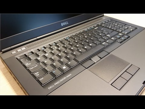 Dell Precision M6800 Laptop Unboxing