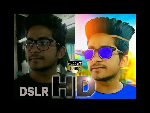 DSLR Look In Mobile Photo | How To Edit Mobile Pic To DSLR Pic By Picsart | Best Picsart Creation (видео)