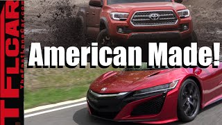 Top 10 Foreign Cars Made in the America: Most Surprising Foreign Cars MADE  in the USA by The Fast Lane Car