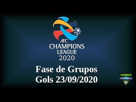 AFC Champions League 2020 - Gols 23/09/2020 - Fase de Grupos