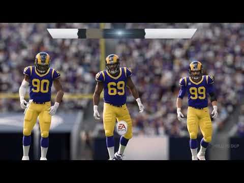 Los Angeles Rams vs New Orleans Saints – NFL Week 2 2019 (Madden NFL 20 Gameplay) 9-15-2019