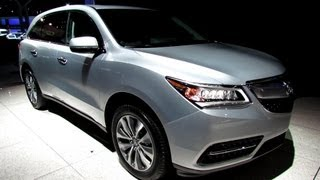 2014 Acura MDX SH-AWD - Exterior And Interior Walkaround - 2013 New York Auto Show