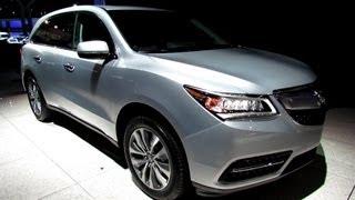 2014 Acura MDX SH-AWD - Exterior And Interior Walkaround - 2013 New York Auto Show