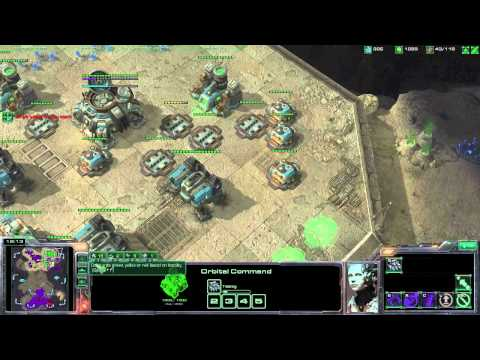 GreenHeart Plays StarCraft 2 - Episode 5 - 2v2 (Swedish Commentary)
