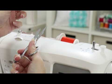 SINGER® CONFIDENCE™ 7640 Sewing Machine - Threading Your Machine