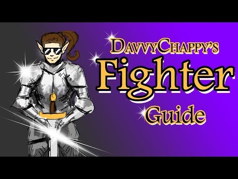 Davvy's D&D 5e Fighter Guide