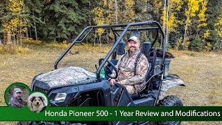 4. Honda Pioneer 500 - 1 Year Review and Modifications