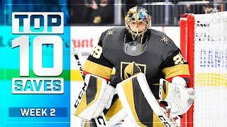 Top 10 Saves from Week 2 | 2019-20 NHL Season by NHL