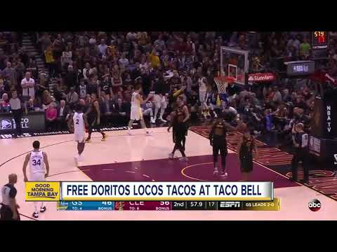 Free Doritos Locos Tacos on Wednesday