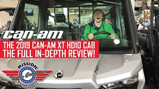 2. 2019 Can-AM Defender XT HD10 CAB Full In-Depth Review