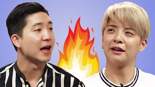 Video Amber Liu Answers Fan Questions While Eating Fire Noodles MP3, 3GP, MP4, WEBM, AVI, FLV Juli 2018