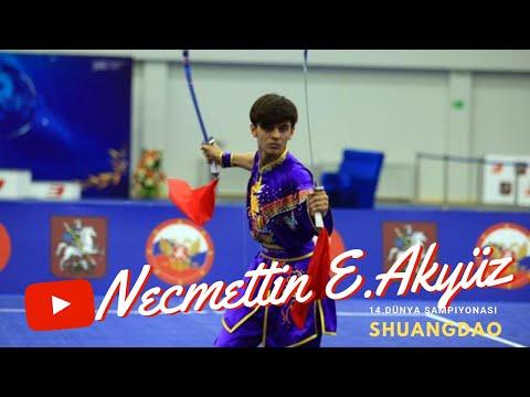 Necmettin Erbakan Akyüz 14. Dünya Wushu Şampiyonası SHUANGDAO performansı.