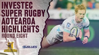 Highlanders v Blues Rd.8 2020 Super rugby Aotearoa video highlights | Super Rugby