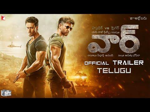 తెలుగు: War Trailer | Hrithik Roshan, Tiger Shroff, Vaani Kapoor | Telugu Version | 4K Video