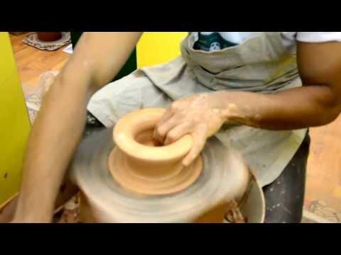 Exposição da escola de Cerâmica Dias d' Ávila Projeto Transbaião
