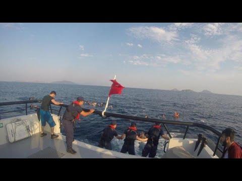 Δώδεκα νεκροί σε ναυάγιο στο Αιγαίο