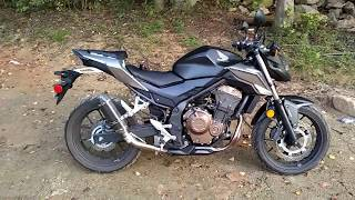 3. 2016 Honda CB500F one year review and modifications