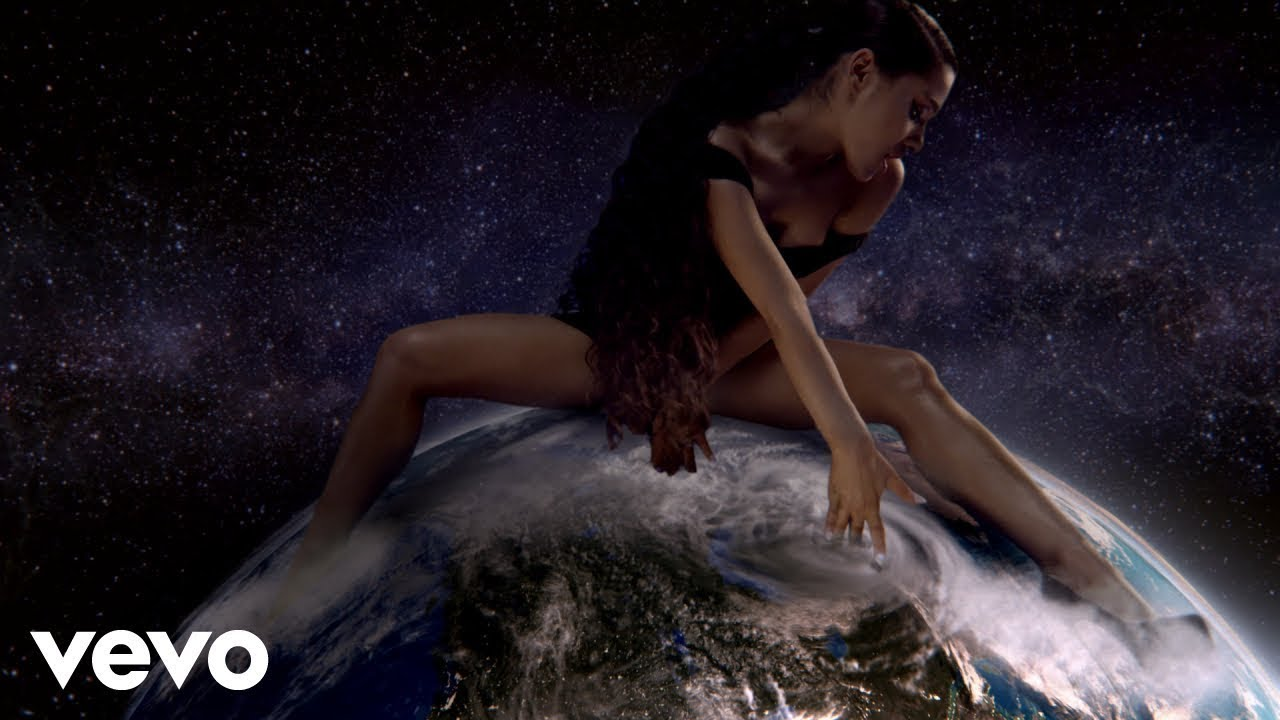 ariana grande releases fierce god is a woman video