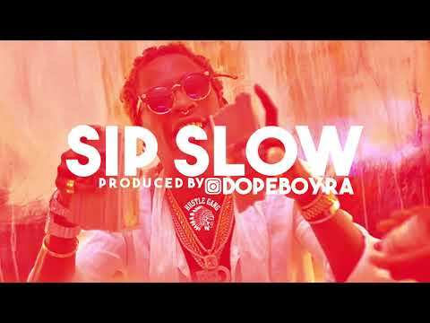 "[FREE] Young Thug Type Beat 2017 - ""Sip Slow"" Produced By @Dopeboyra Trap Instrumental 2017"