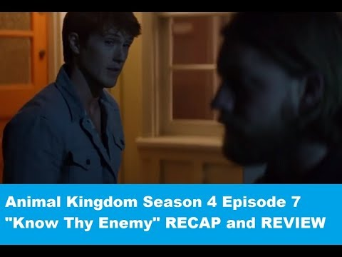 "Animal Kingdom Season 4 Episode 7 RECAP/REVIEW ""Know Thy Enemy"""