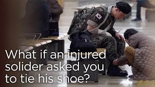 Video What If an Injured Soldier Asked You to Tie His Shoe? ENG SUB • dingo kdrama MP3, 3GP, MP4, WEBM, AVI, FLV Oktober 2018