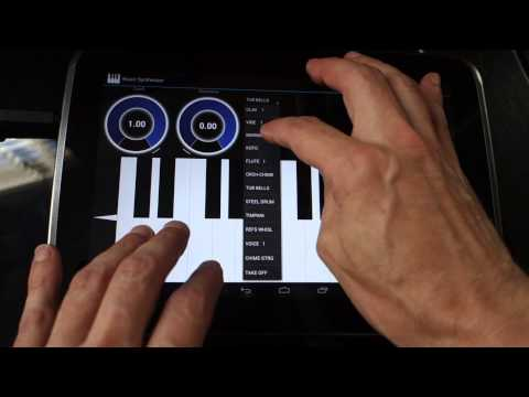 Video of Music Synthesizer for Android