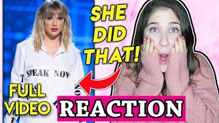 Video Taylor Swift AMA's REACTION to FULL Artist Of The Decade Performance 2019 download in MP3, 3GP, MP4, WEBM, AVI, FLV January 2017