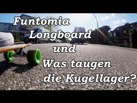 Funtomia Longboard und Was taugen die Kugellager? | Marco Miyagi