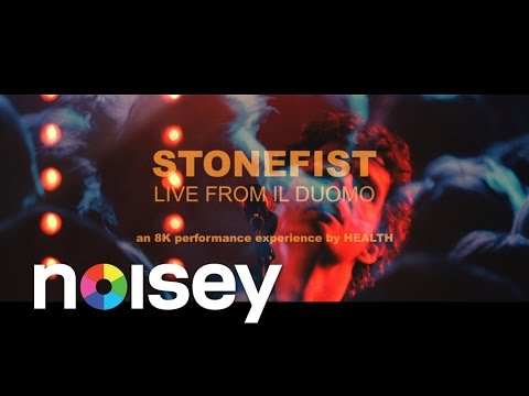Watch HEALTH's live performance of 'STONEFIST' at the The Dome in London, shot on 8K film