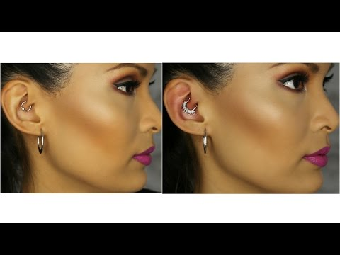 How to Change Daith Piercing Jewelry