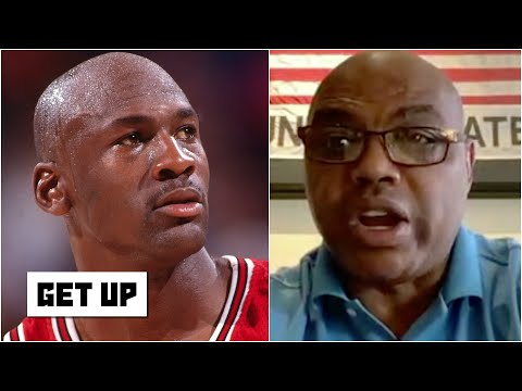 Charles Barkley reacts to MJ's comments on 'The Last Dance' about their MVP race   Get Up