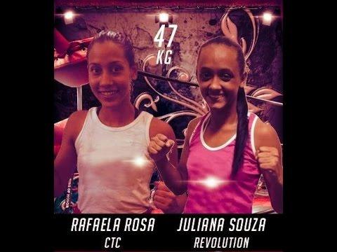 SUPER GIRLS - RAFAELA ROSA (CTC) X JULIANA SOUZA (REVOLUTION TEAM) (видео)