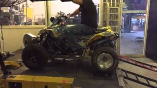 10. Can-am DS450 Dyno Run