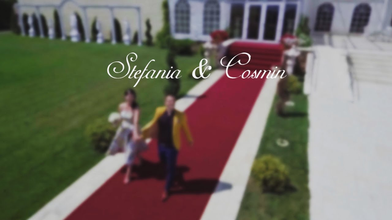 Wedding Day - Stefania & Cosmin - Roma Events | FilmariCuDrona.com
