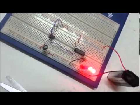 binary counter using ic 555 and ic 4520
