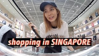 Video Shopping in Singapore: YSL, Balenciaga, & Gucci | #Vlogmas Day⑥ MP3, 3GP, MP4, WEBM, AVI, FLV Februari 2018