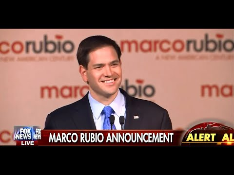 Marco Rubio 2016 Presidential Bid