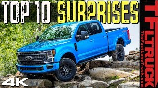 This 2020 Ford Tremor Off-Road Truck Is Hiding These Top 10 Surprising Features! by The Fast Lane Truck