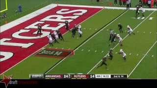 Tyler Kroft vs Arkansas (2013)