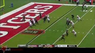 Tyler Kroft vs Arkansas (2013)