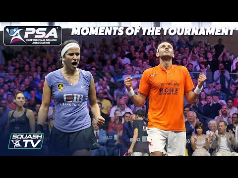 Squash: Moments of the Tournament - Allam British Open 2019