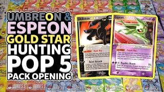 UMBREON & ESPEON GOLD STAR HUNTING! | Opening 20 POP 5 Packs of Pokemon Cards! by The Pokémon Evolutionaries