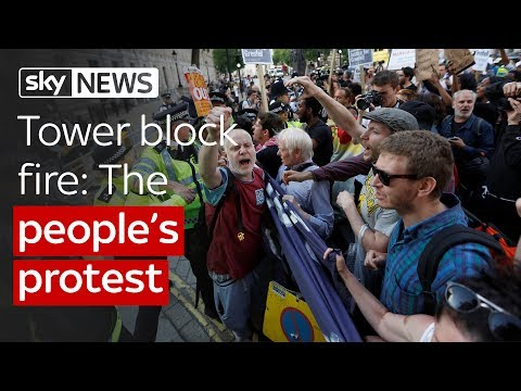 Tower block fire: The people's protest
