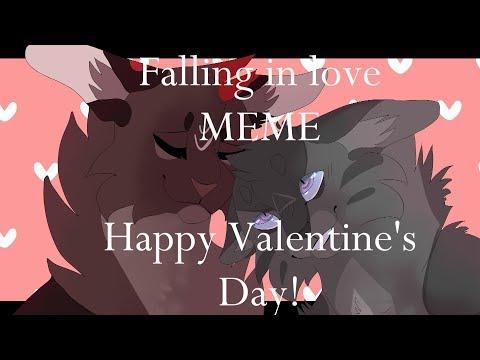 Falling In Love MEME Happy Valentine's Day!