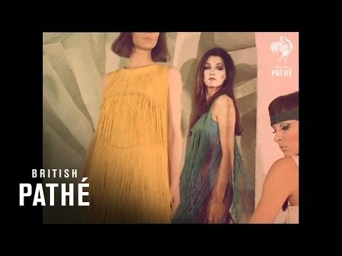 Paco Rabanne Metal Dresses (1969 Original Footage)